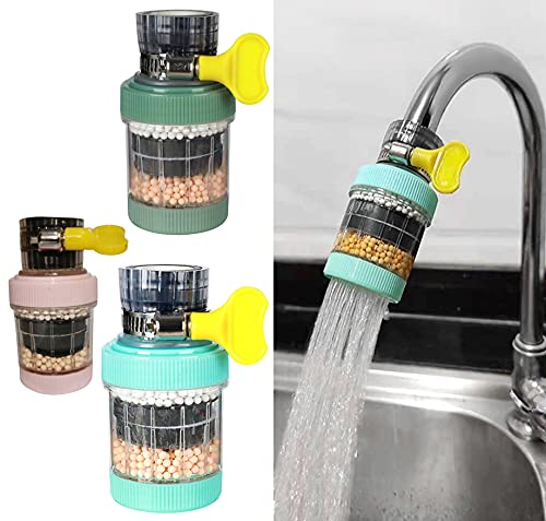 Faucet Mount Filters,3 Pack Faucet Water Filter Purifier...