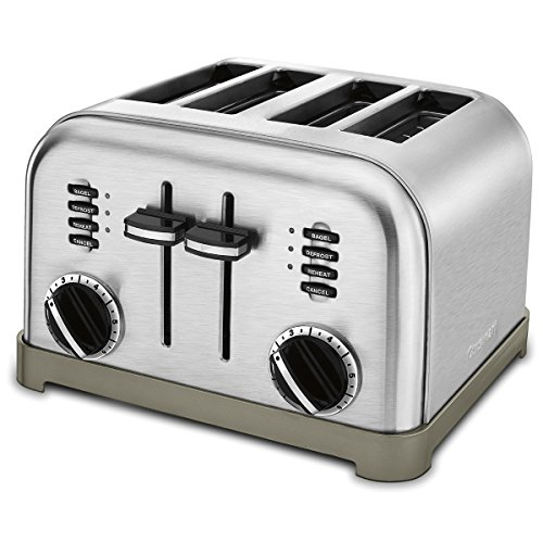 Cuisinart CPT-180P1 Metal Classic 4-Slice toaster, Brushed...