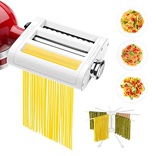 ANTREE Pasta Maker Attachment for KitchenAid Stand Mixers...