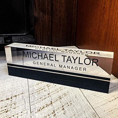 Artblox Office Desk Name Plate Personalized | Custom Name...