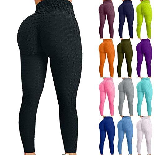 Famous Tiktok Leggings, Butt Lift High Waist Yoga Pants for...
