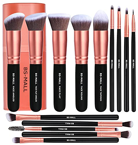 BS-MALL Makeup Brushes Premium Synthetic Foundation Powder...