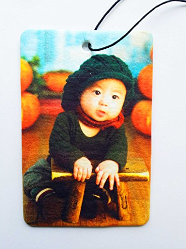 Your Picture On A Rectangular Car Air Freshener - Portrait