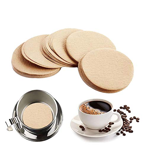 600pcs Unbleached Disposable Coffee Filters, Pour Over...