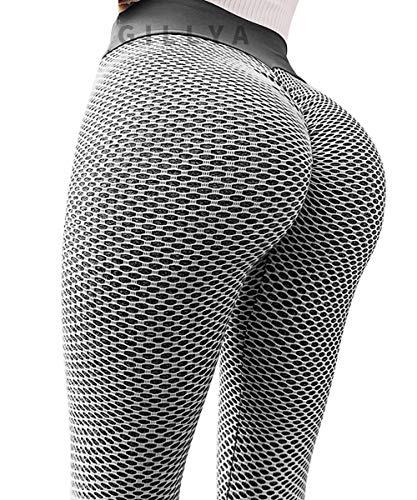 GILLYA Butt Lift Yoga Pants Tiktok Butt Leggings Women TIK...