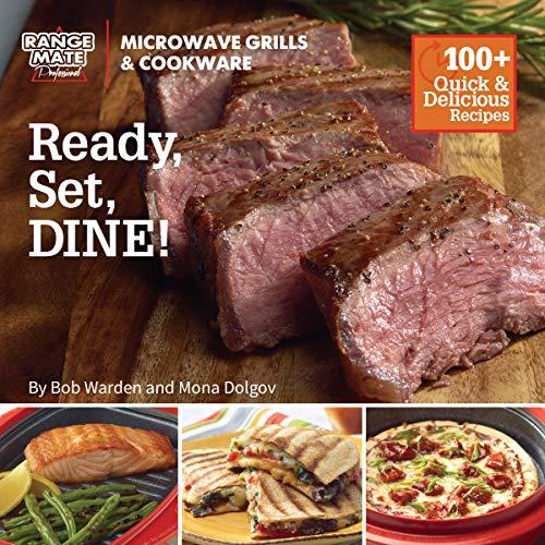 "Range Mate Pro Microwave Grill ""Ready, Set Dine""..."