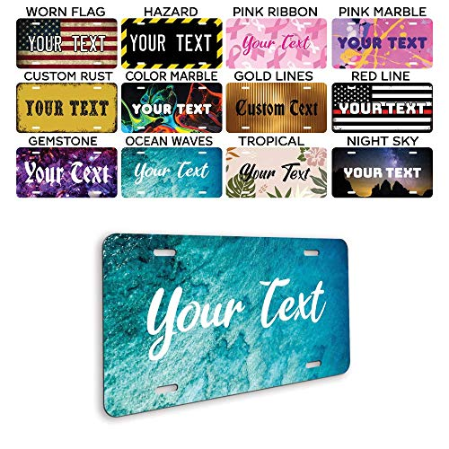 Personalized Front License Plates - Custom License Plate for...