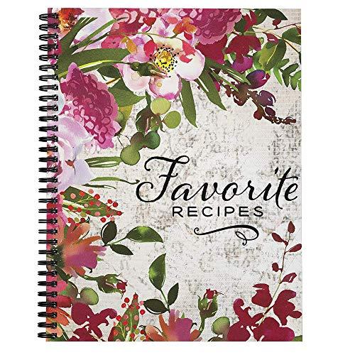 Softcover Favorite Recipes 8.5' x 11' Spiral Recipe...