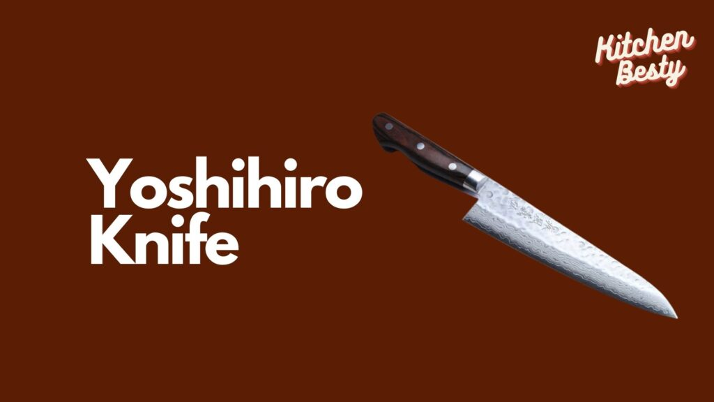 Yoshihiro Knife Best Knife of Damasco Chefs