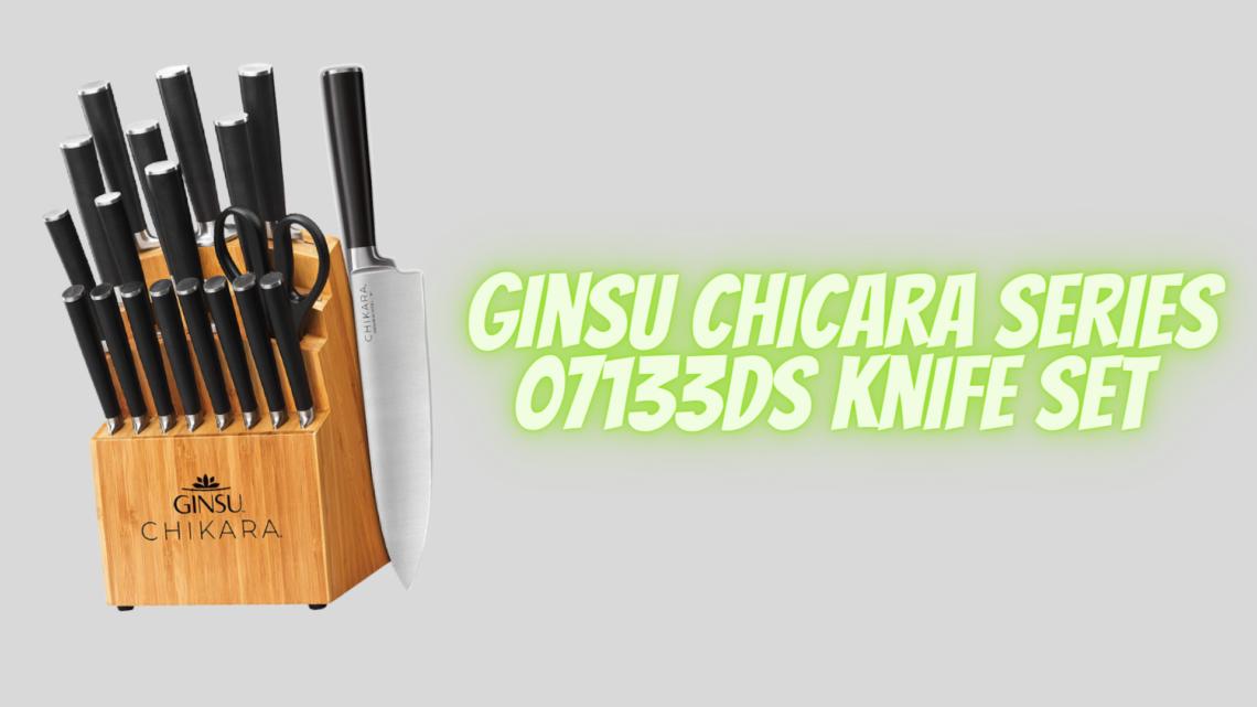 Ginsu Chicara Series 07133DS Knife Set