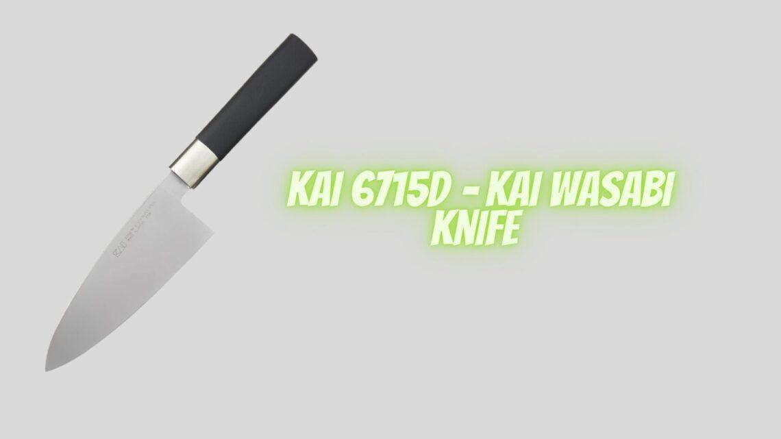 Kai 6715D – Kai Wasabi Knife